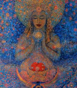 Gratitude feminine godess