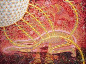 Alex Gray Prostration Artwork