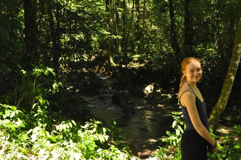 Mikaela Carlen shaman apprentice at Sinchi Runa