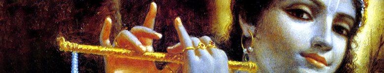 sri bhagavan krishna with flute