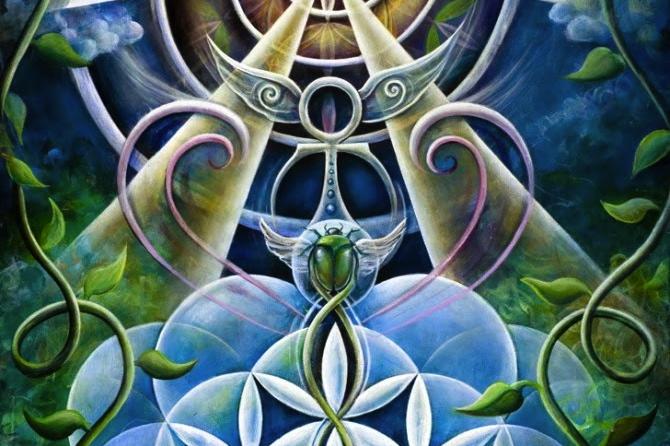 flower of life artwork