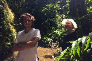 two guests at sinchi runa ayahuasca retreat