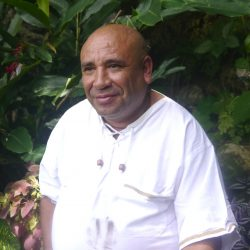 Ayahuasca shaman and healer Sanango Sinchi Runa